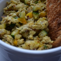 Indian style scrambled eggs