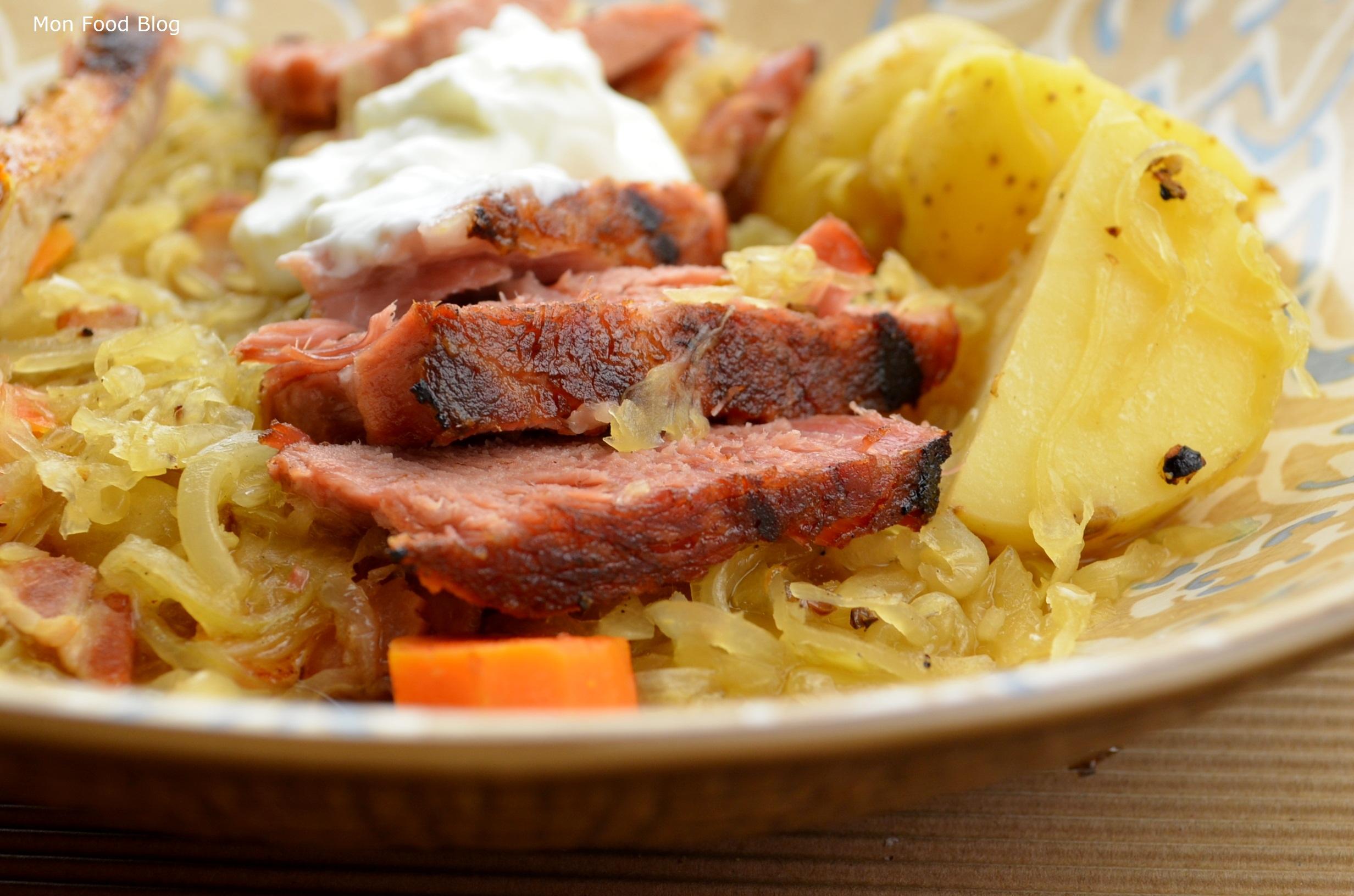 Choucroute garnie | Mon Food Blog