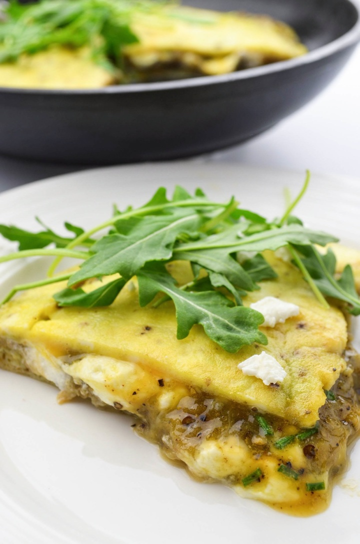 Stuffed frittata