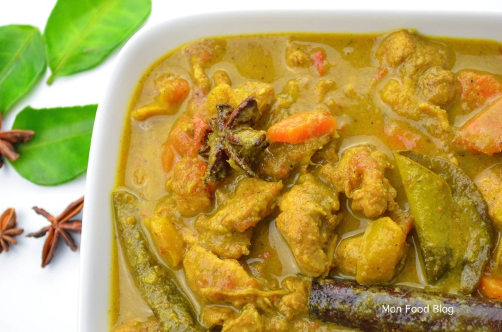 Malaysian chicken curry