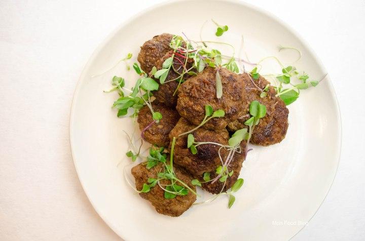 Burmese meat sliders