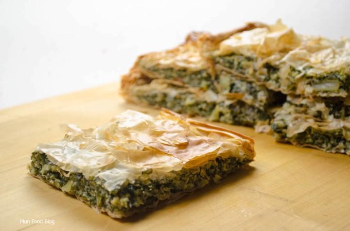 Swiss chard tart